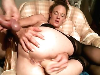Mummy Squirts And Deep Throats Hard-on
