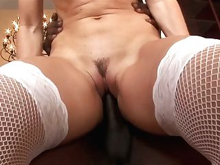 After Deepthroating Massive Black Dick Lusty India Summer Rails Stud On Top