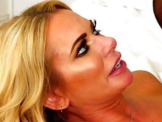 German Blonde Mummy Briana Banks Gets Her Cunt Slammed Hard