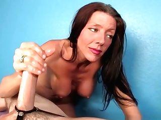 Cougar Masseuse Titfucking And Jerking Salami