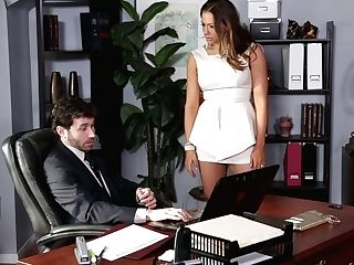 Cougar Fucked By Her Manager's Pulsating Peter In The Office