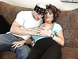Mega Buxom Black-haired Mom Deauxma Takes On Big Sausage Of Johnny Sins