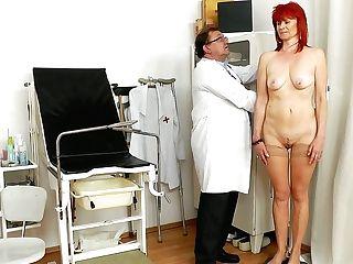 Slack Granny Milada Gets Mauled Hard By Rapacious Doc