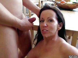 German Boy Caught Step-mom Naked And Tempt To Fuck