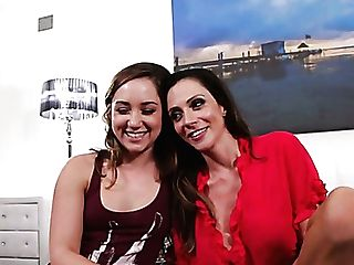 Jaw Ripping Off Beauty Ariella Ferrera Gives Interview Before The Scene