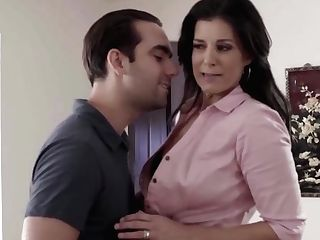 Hot Mummy Bangs By Her Horny Stepsons