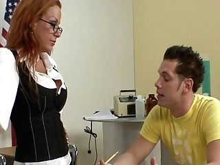 Two Students Fuck The Tutor