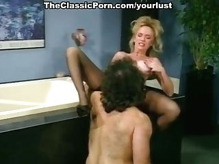 Wondrous Platinum-blonde Haired Milfie Nymphomaniac In Stockings Is Fucked Missionary