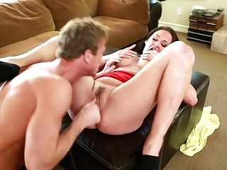 Big-chested  Brown-haired Tory Lane Gets Her Slit Polished And Fingerfucked