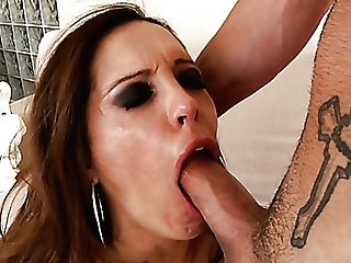 Horny Bitch Francesca Le Gives Her Head And Gets Her Butt Crevasse Rimmed