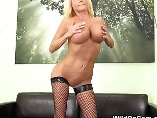 Crazy Superstar Nikita Von James In Greatest Big Tits, Onanism Hump Flick