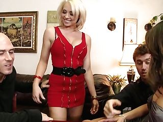 Huge-chested And Supah Horny Milky Stunner Got Her Taut Twat Eaten