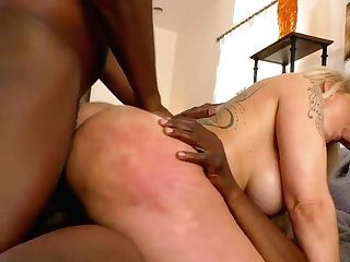 Whore Wifey Ryan Conner Is Fucked By A Few Black Dudes